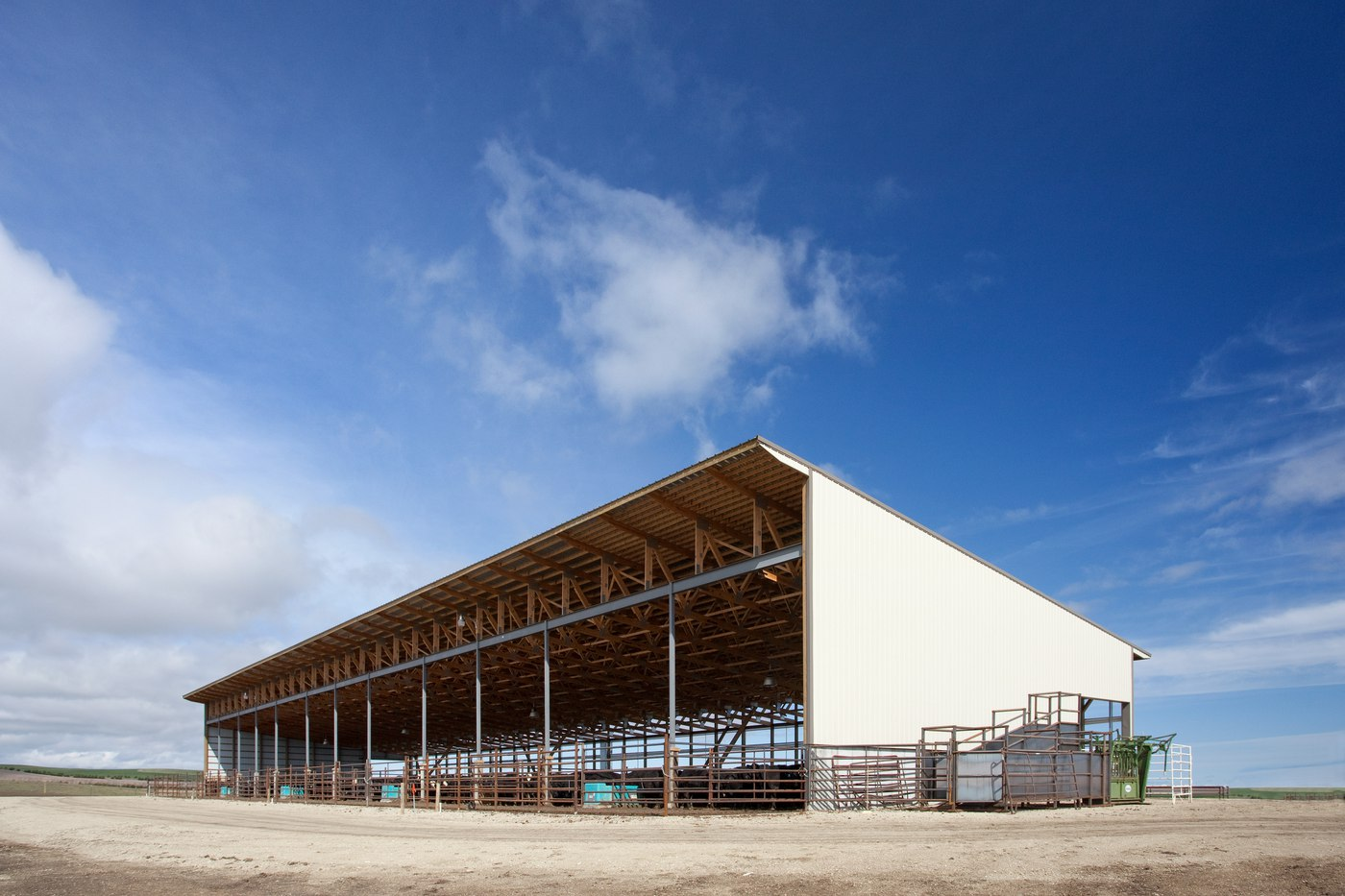 Bruce Nielsen_PacSlat Facility_Monoslope Beef Barn