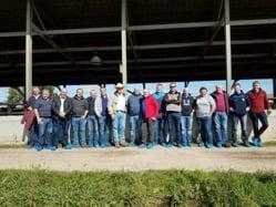 Irish Farmers Visit IL Beef Farm_Summit Livesetock Facilities
