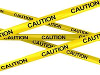 caution tape, hydrogen sulfide gases, monoslope beef barns