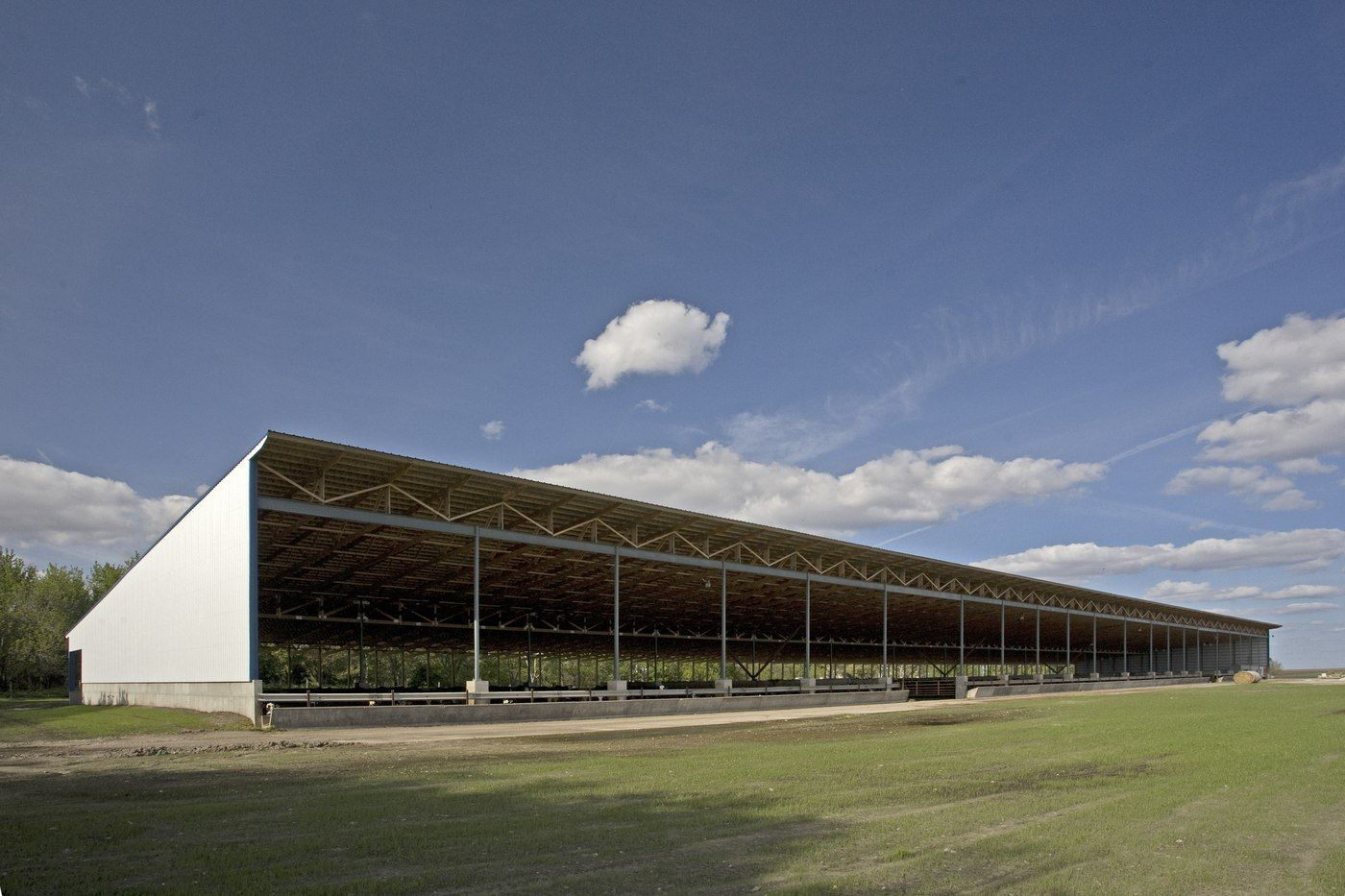 Craig Sandven_Bed Pack Facility_Monoslope Beef Barn