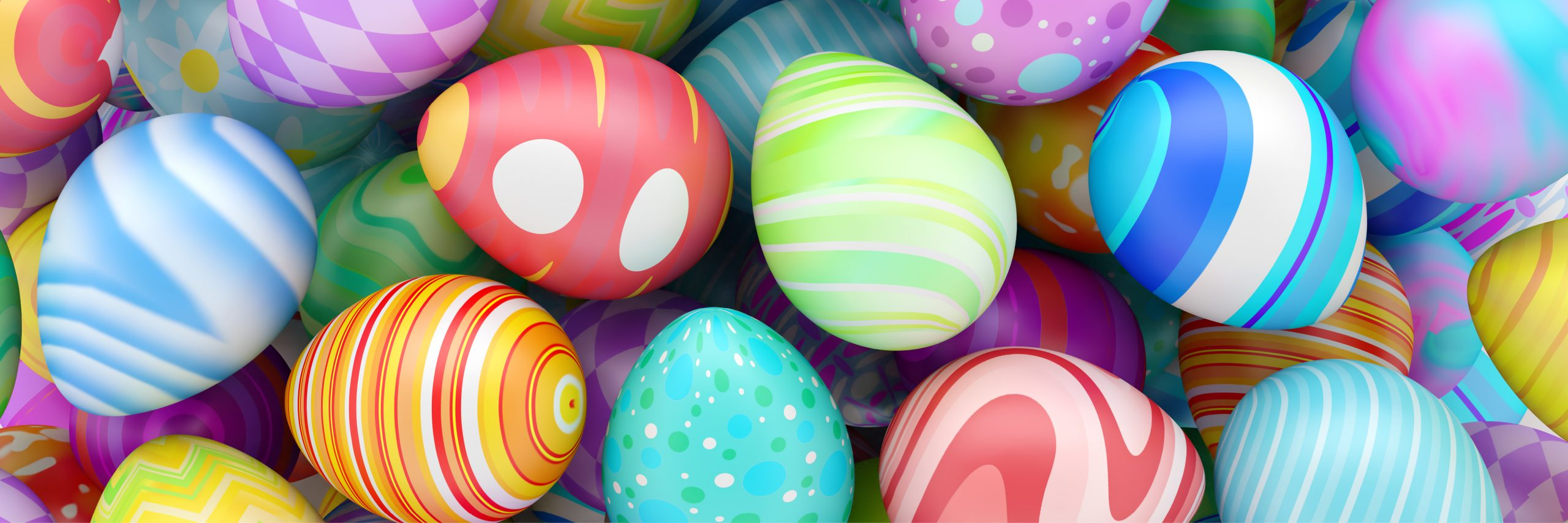 Easter And Eggs Go Together